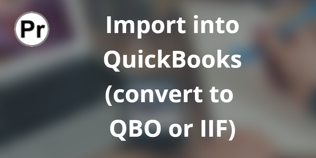 Read qfx in excel