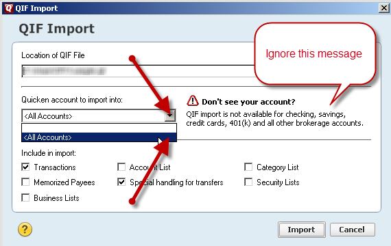 importing-qif-under-quicken